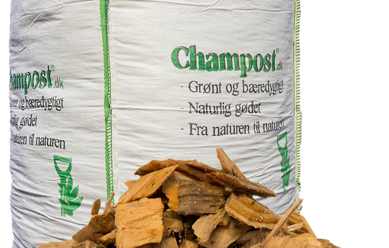 Champost Træflis, 25-50mm – 2500 l
