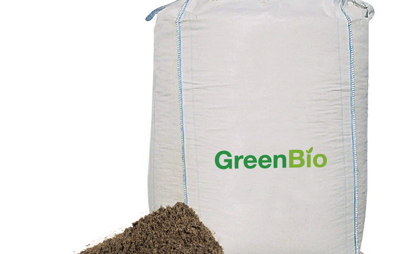 GreenBio Plænedress / Topdressing – Bigbag á 1000 liter.
