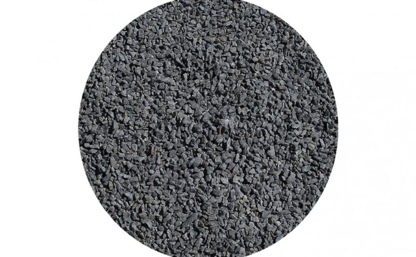 Granit skærver sort, 11-16 mm, 15 liters sæk