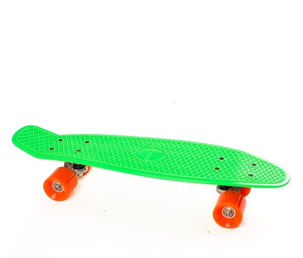 "Cruiserboard ""Pennyboard"" Lime/orange"